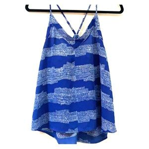 Collective Concepts Wave patterned tank top